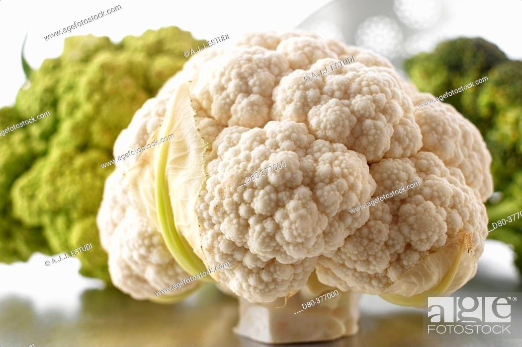 Stock Photo: Cauliflower.