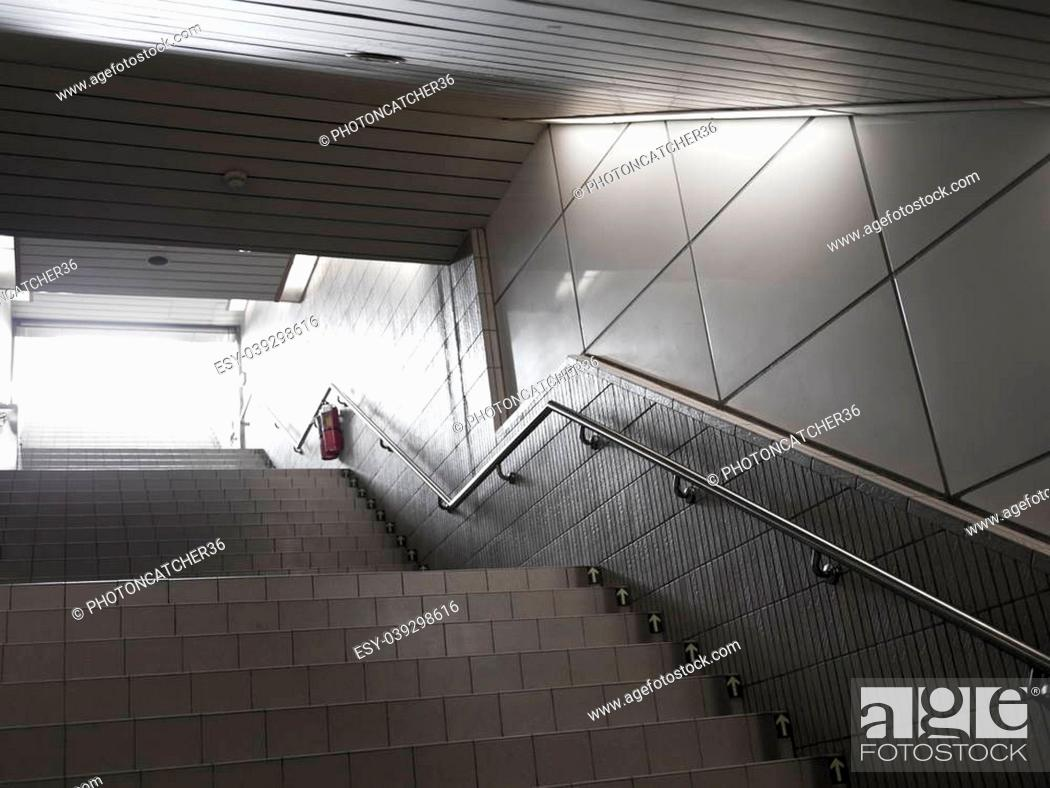 underground passage with many steps