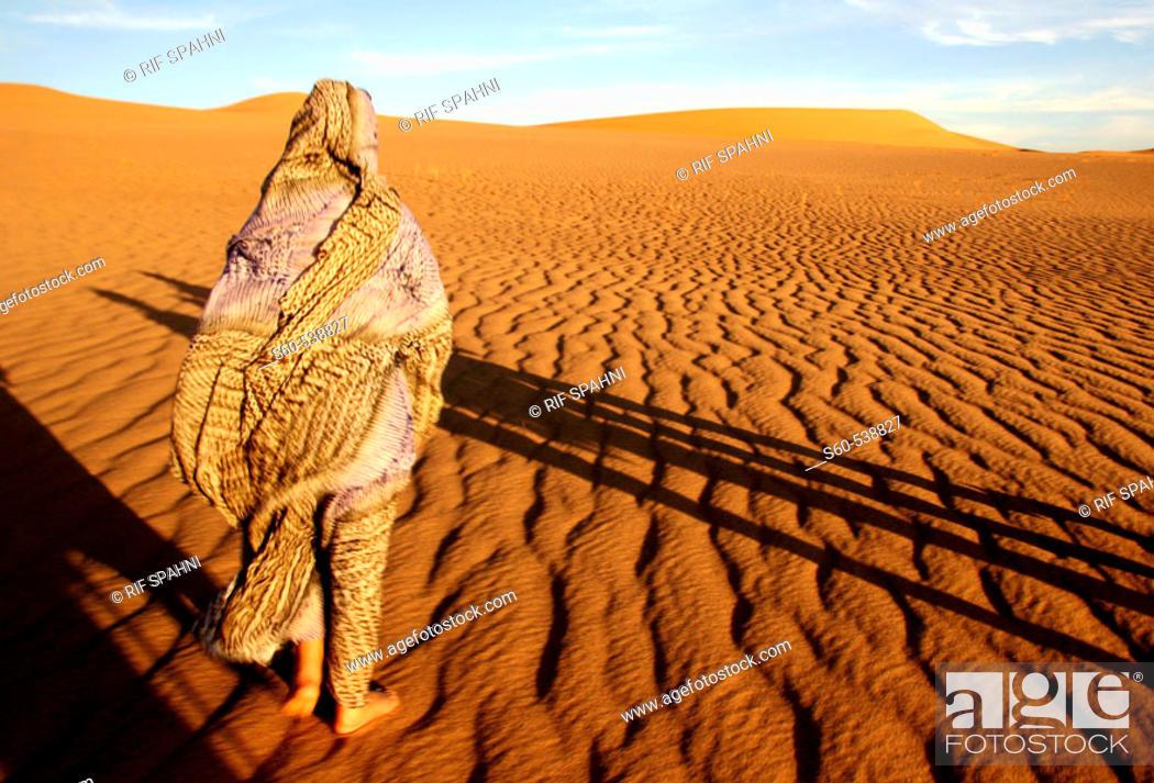 Stock Photo: Algerian woman.