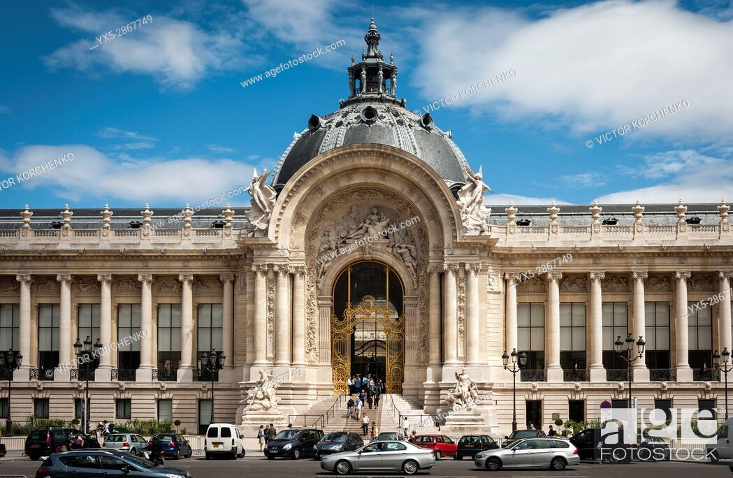 Imagen: Petit Palais facade, Paris.