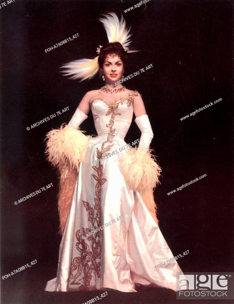 Stock Photo: La Donna più bella del mondo The World's Most Beautiful Woman Year: 1955 - Italy Gina Lollobrigida  Director: Robert Z. Leonard.