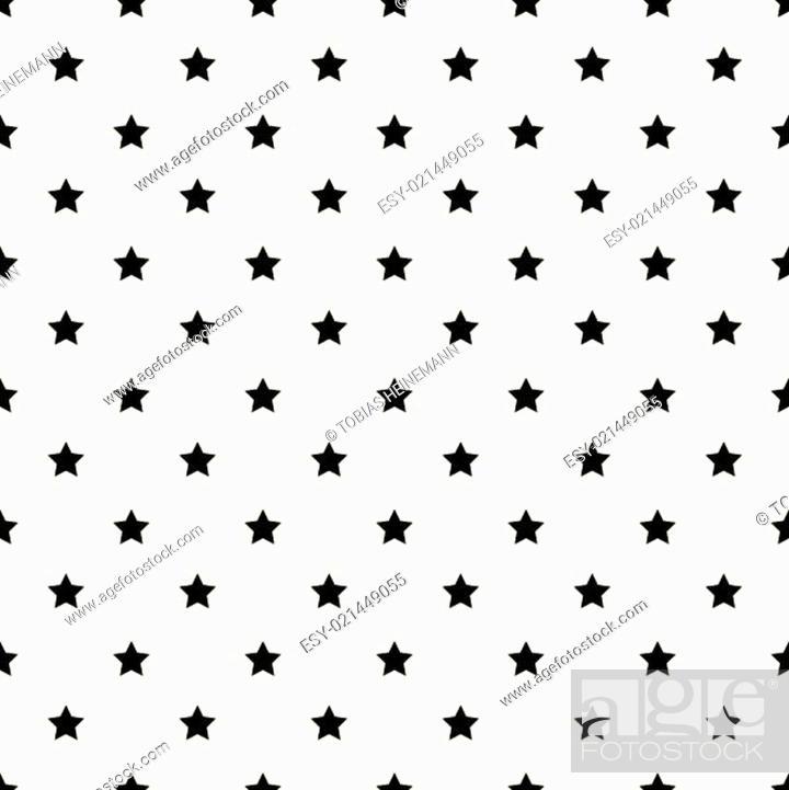 Stock Vector: endloser Sternenhintergrund einfach zu ändern.