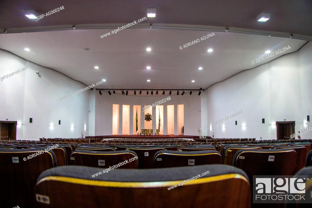 Stock Photo: Bandeirantes Palace, Morumbi, Capital, São Paulo, Brazil.