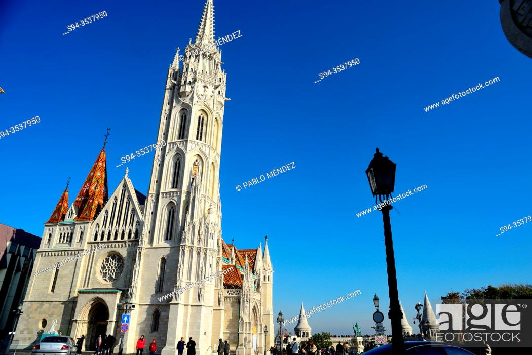 Stock Photo: Church of Matias, castle of Budapest, Hungary.