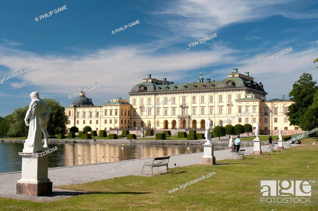 Stock Photo: Drottningholm Palace, Stockholm.