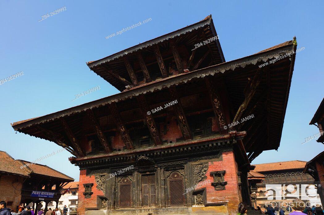 Stock Photo: Bakthapur, Kathmandu Valley, Nepal, Asia.