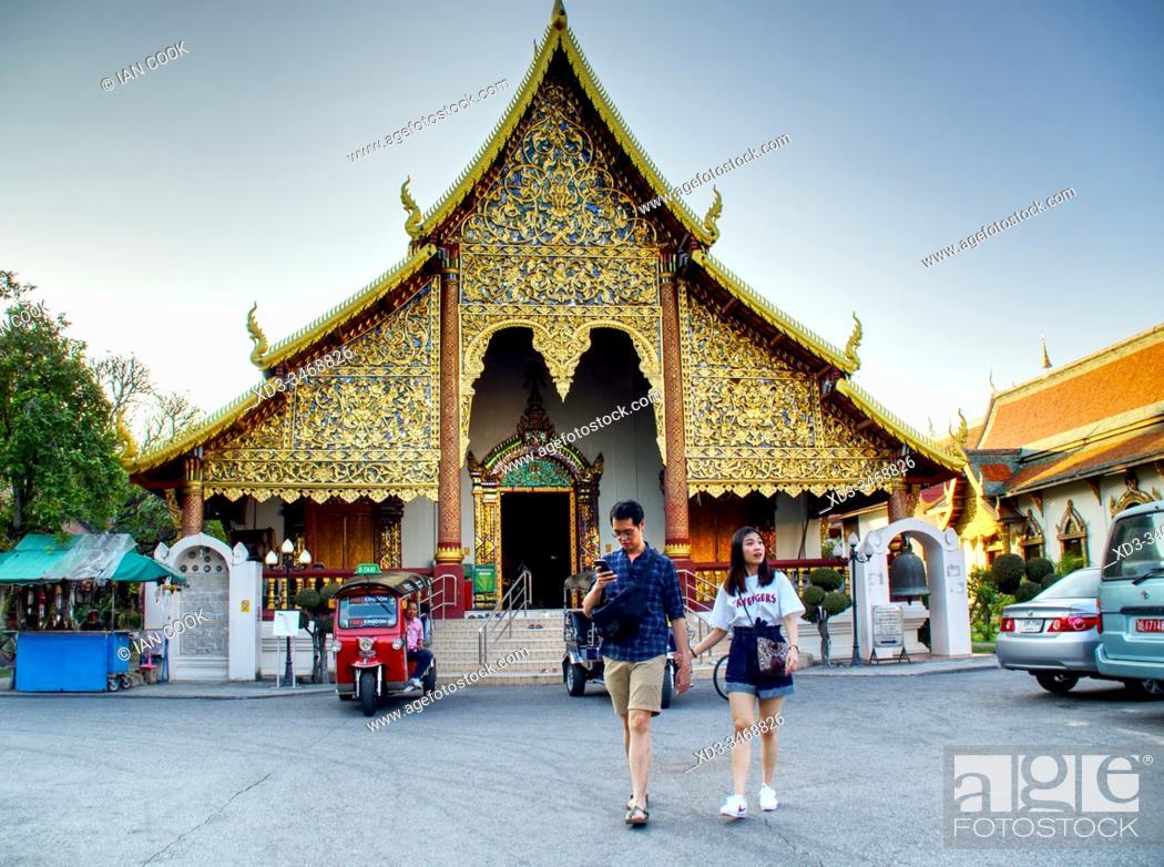 Stock Photo: Wat Muen Ngoen Kong, Chiang Mai, Thailand.