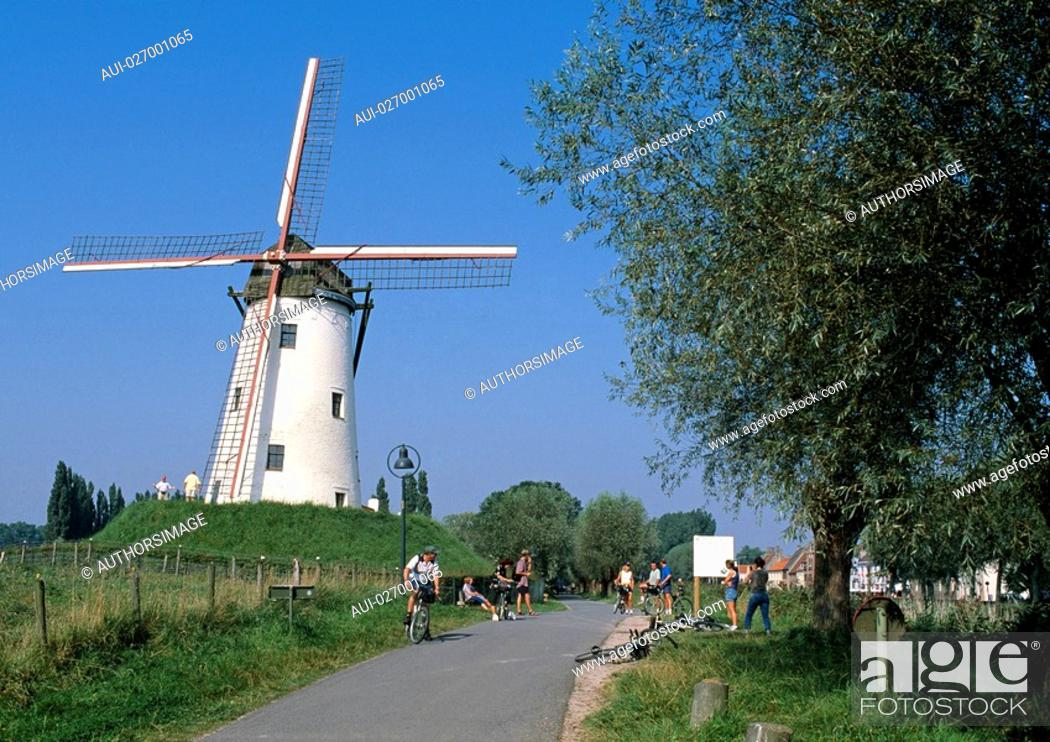 Stock Photo: Belgium - Flanders - Damme.