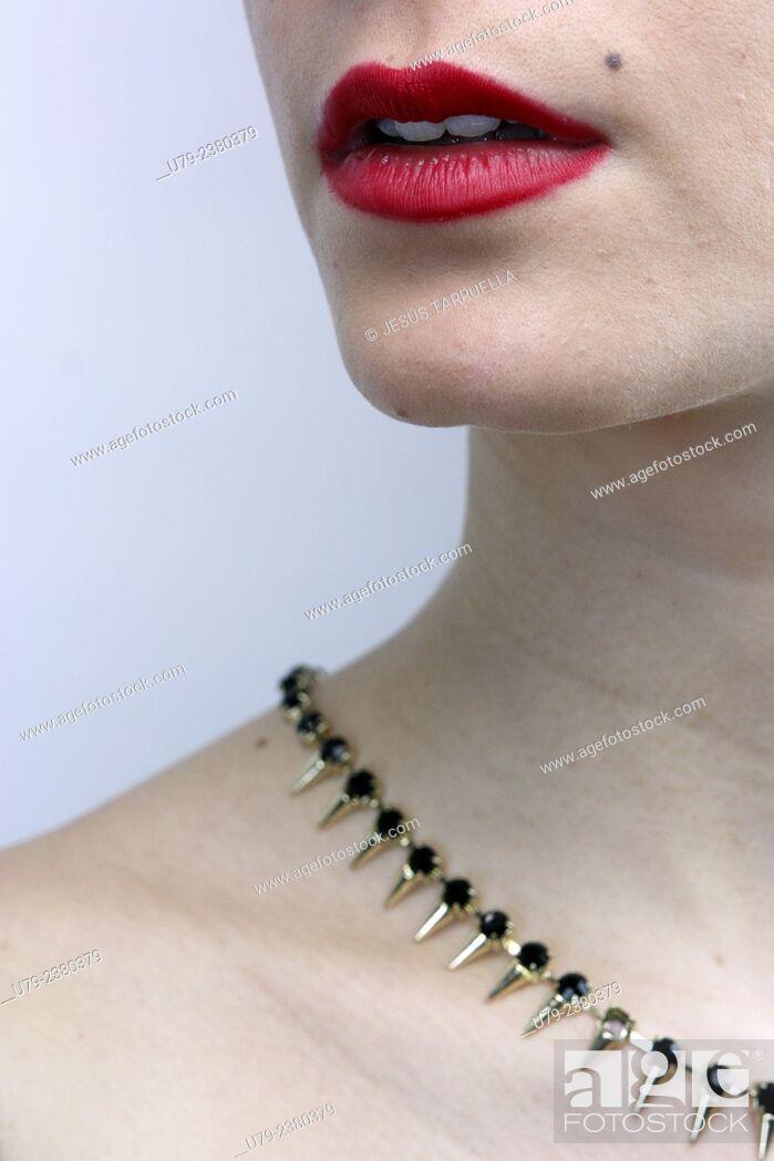 Stock Photo: Woman portrait, Spain.