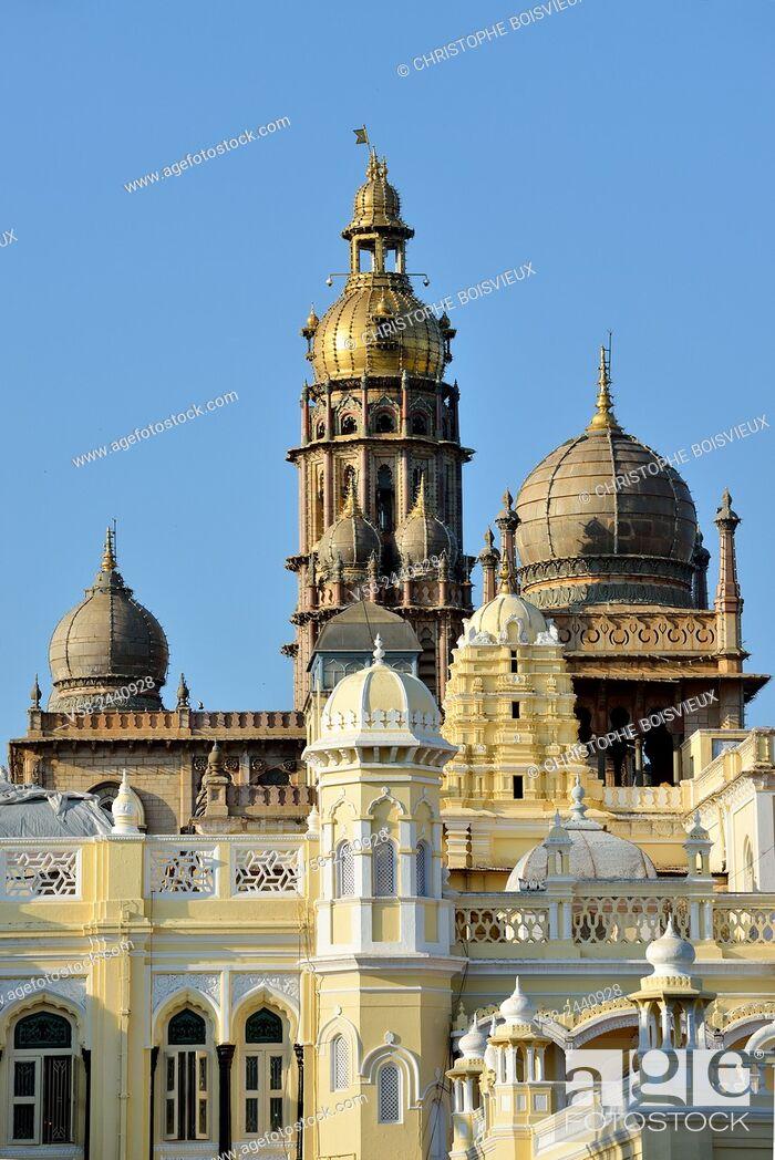 Imagen: Mysore palace, Karnataka, India.