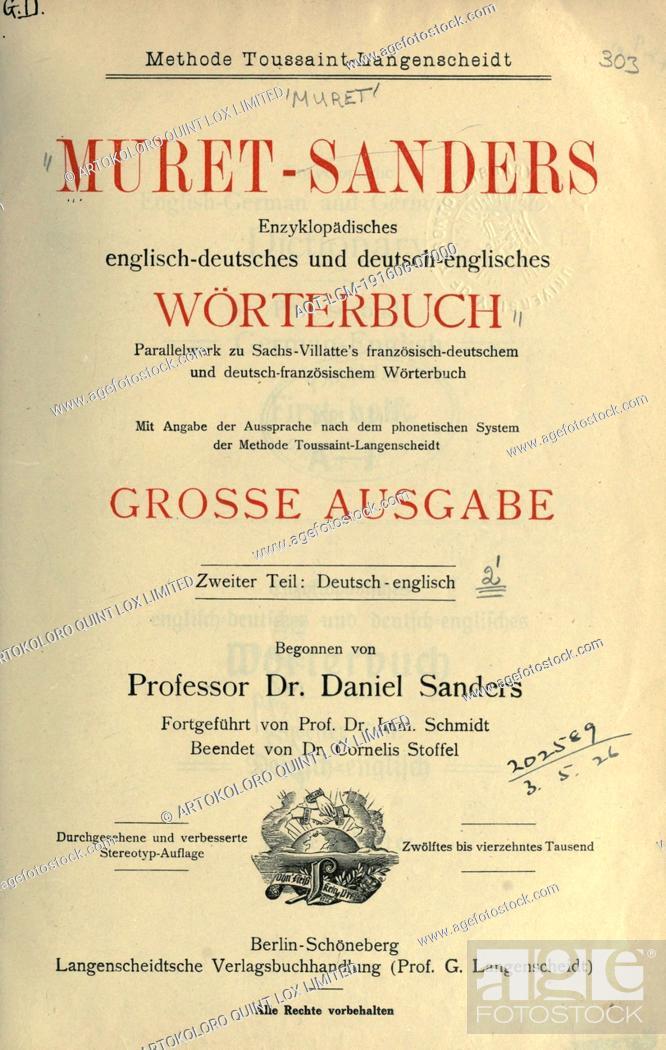 englisch deutsches wörterbuch