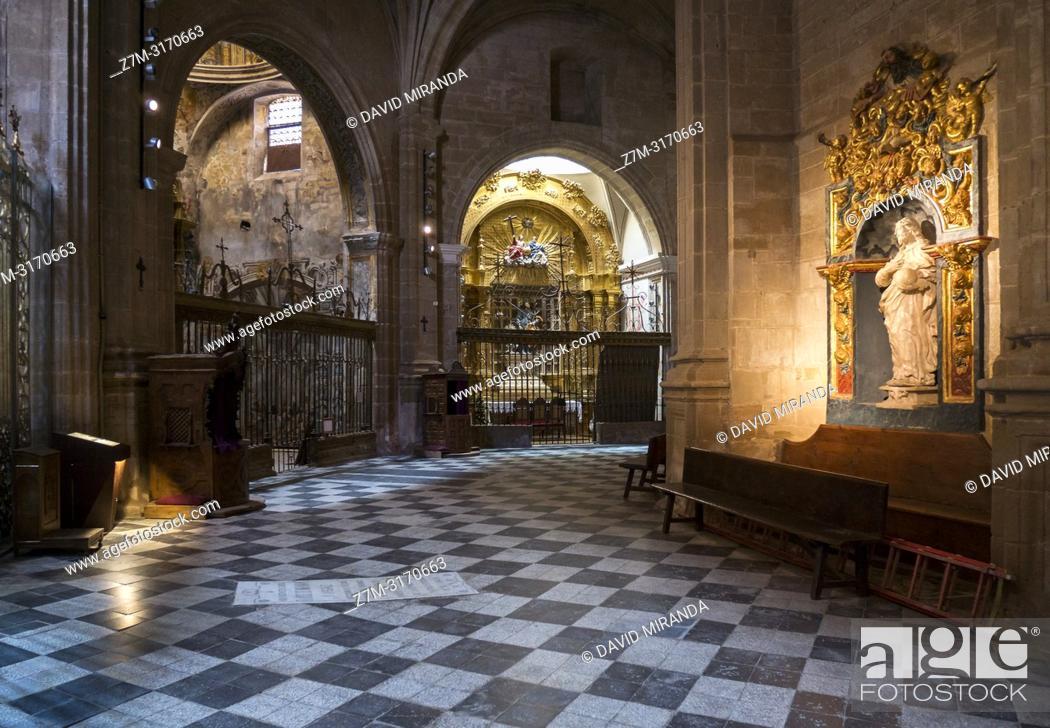 Stock Photo: Trascoro. Catedral de Calahorra. La Rioja. Spain.