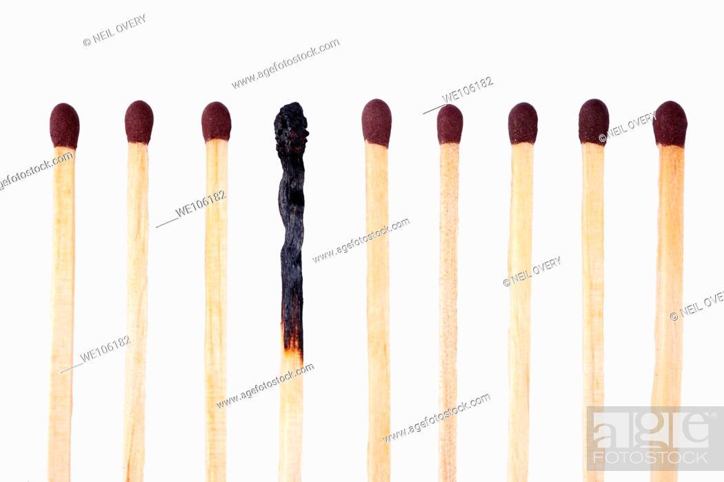 Stock Photo: Matches.