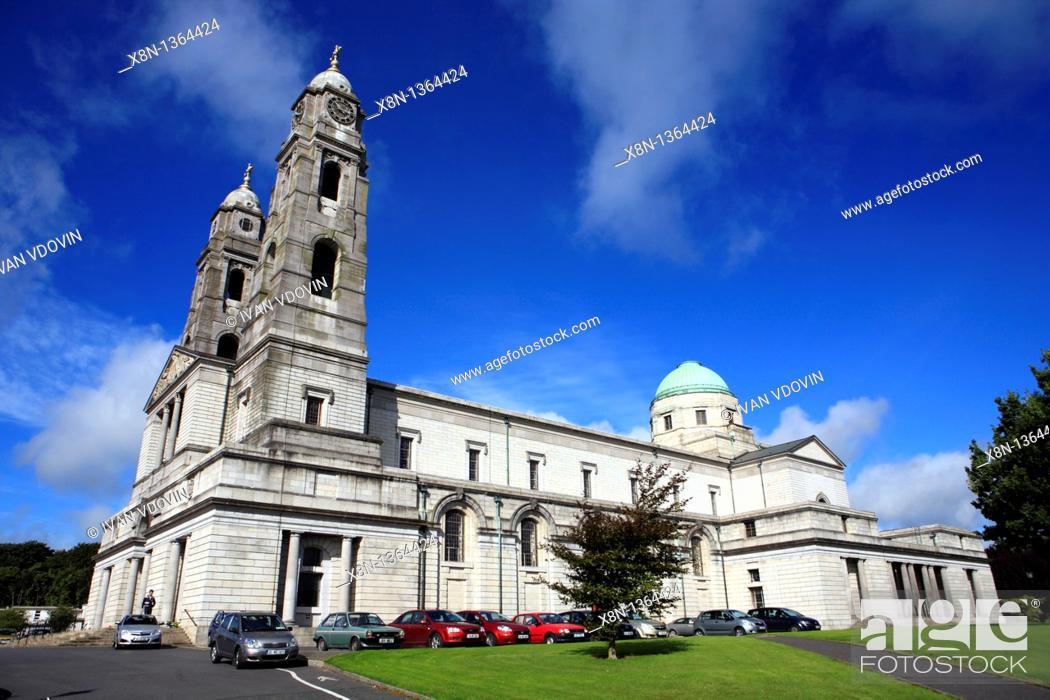 Stock Photo: Christ King cathedral 1933-1936, Mullingar, Westmeath county, Ireland.