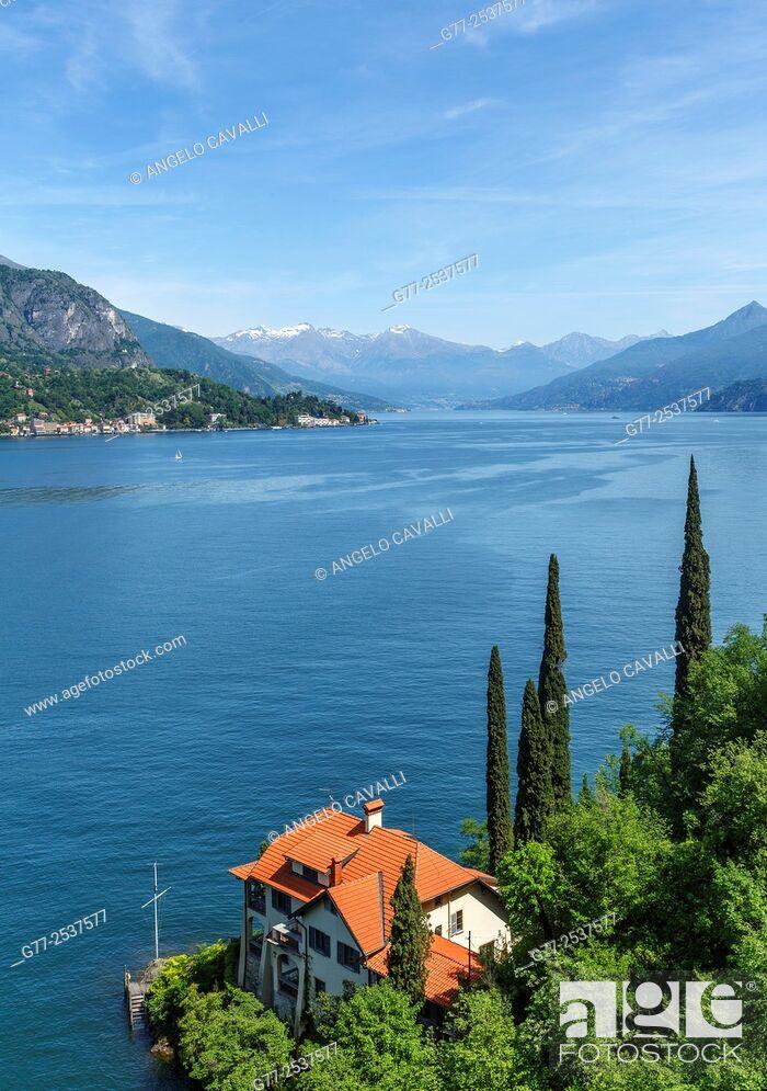 Stock Photo: Lake of Como, Italy.