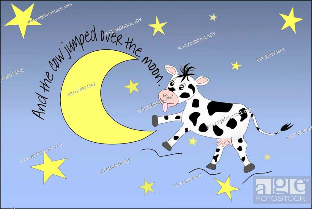 Nursery Rhyme Of The Cow Jumping Over