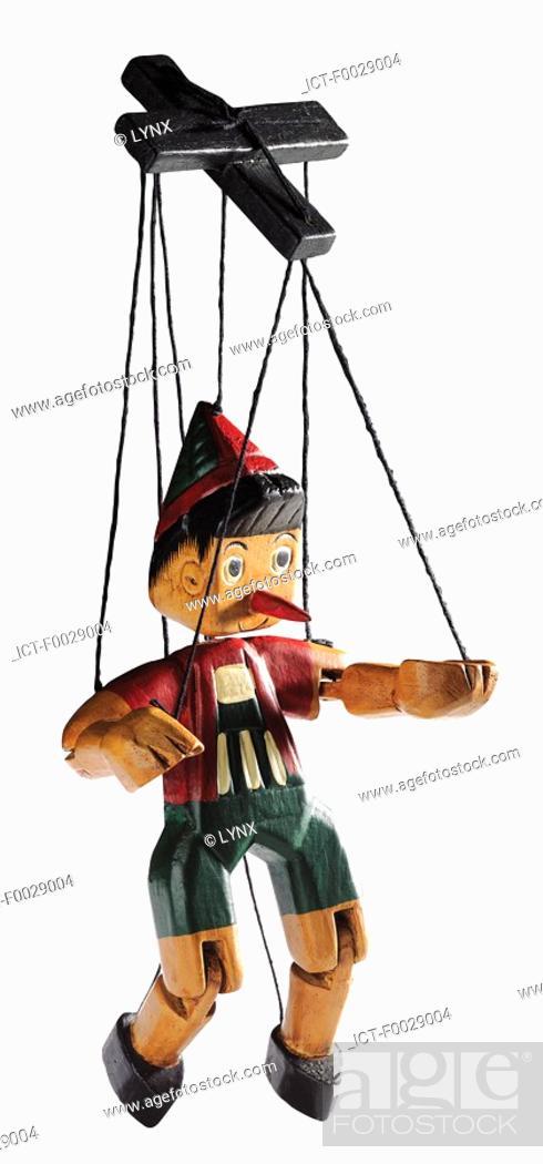 Stock Photo: World symbols: Marionette of Pinocchio Italy.