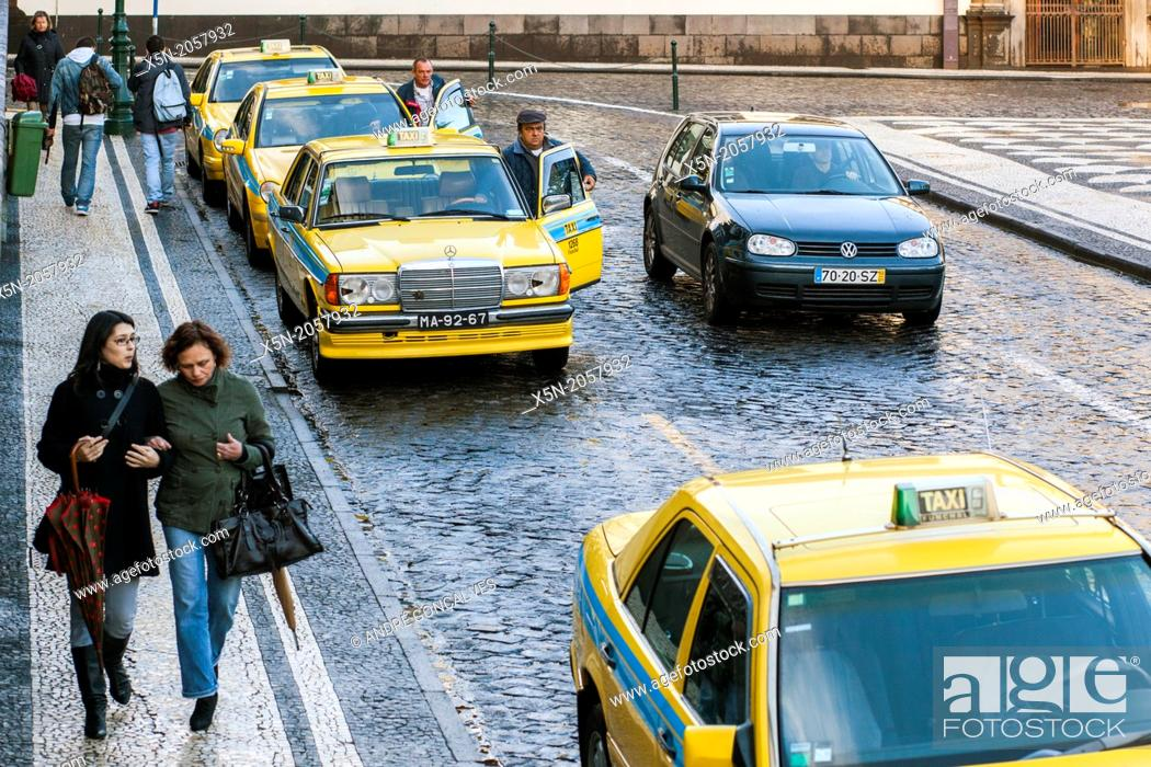 Stock Photo: Praca de Taxis, Funchal, Madeira, Portugal, Europe.