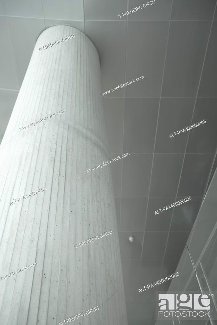 Stock Photo: Architectural detail, concrete column.