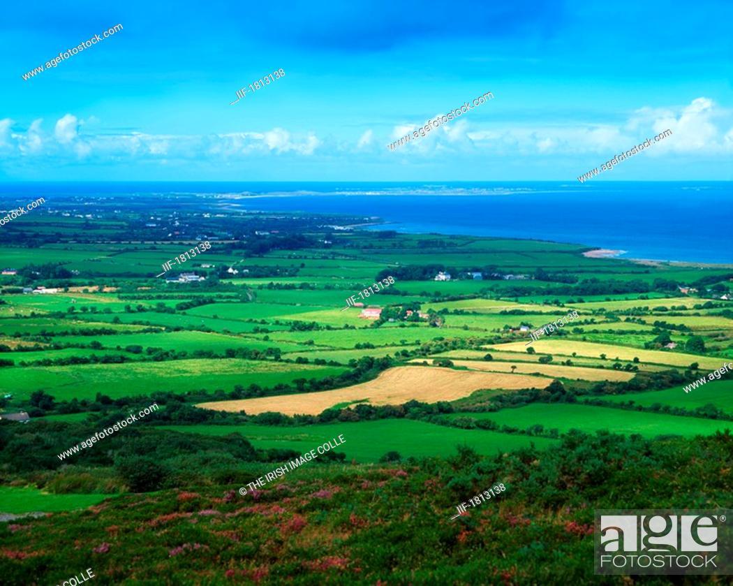 Stock Photo: Landscape towards Castlegregory, Dingle Peninsula, Co Kerry, Ireland.