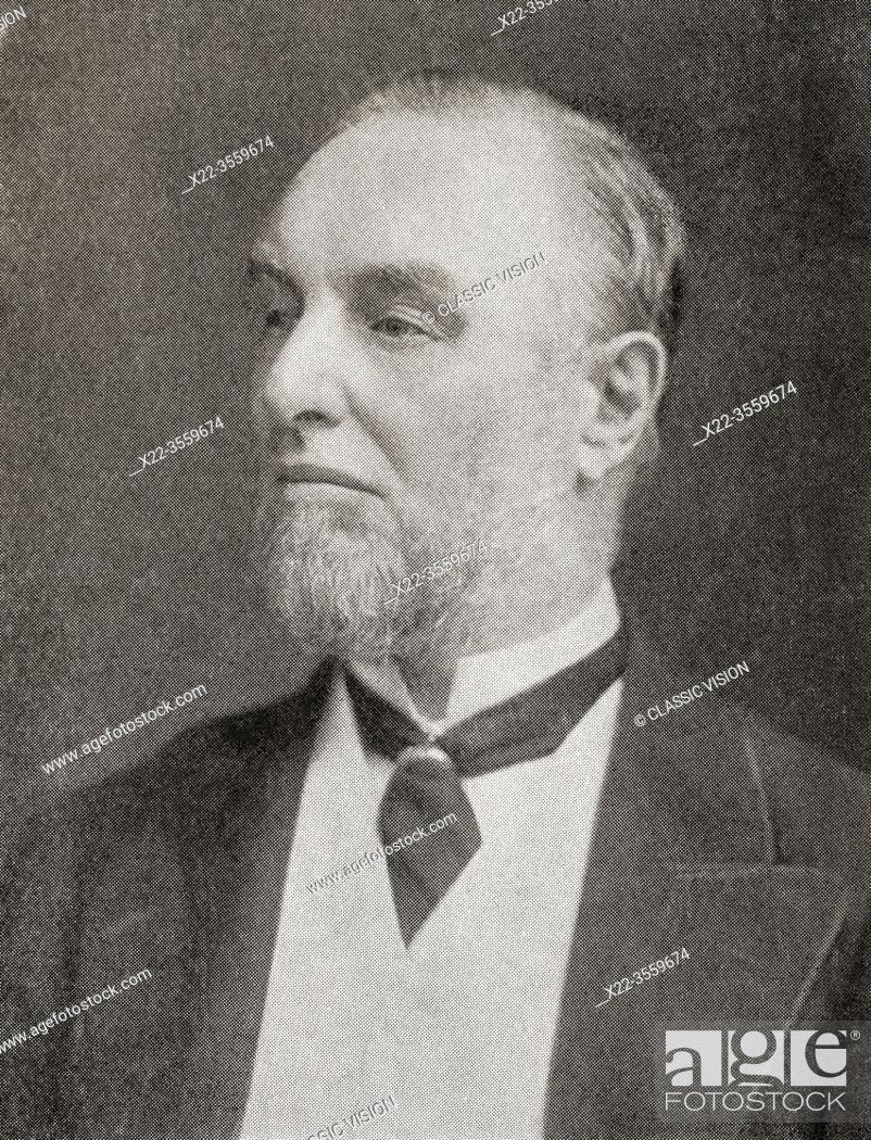 """Imagen: Sir Frederick Thorpe Mappin, 1st Baronet, aka Frederick Mappin, 1821 â. """" 1910. English factory owner and Liberal politician."""