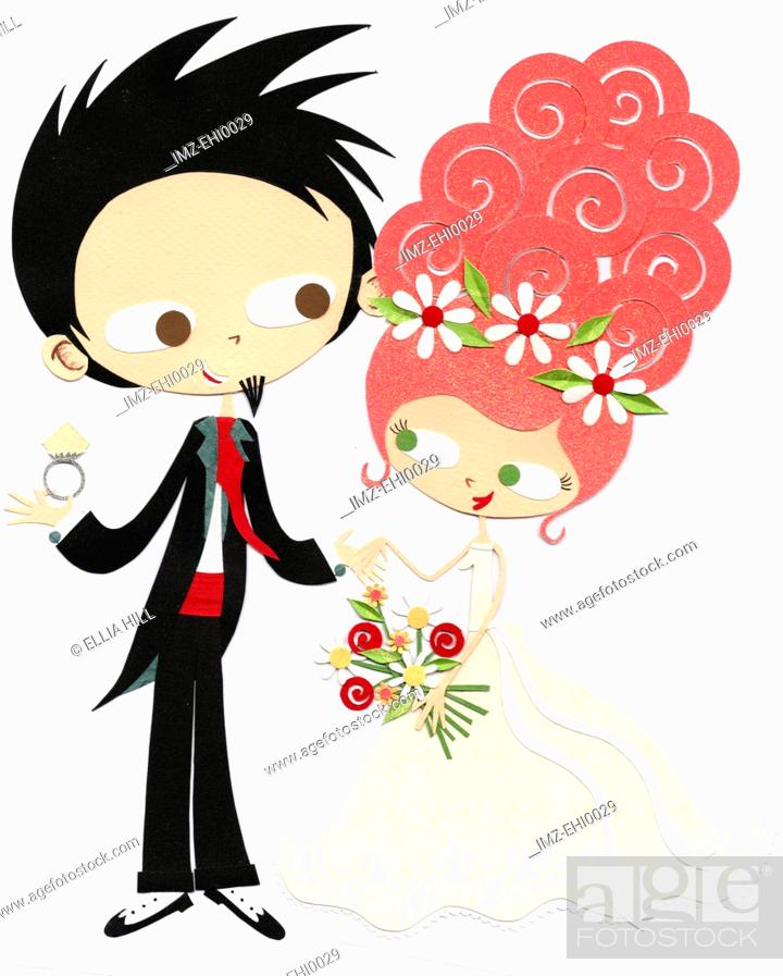 Stock Photo: Wedding day.