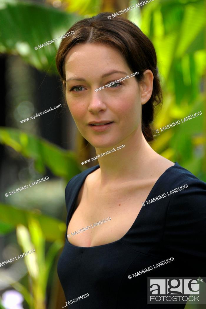 Stock Photo: Cristiana Capotondi; Capotondi; actress; celebrities; 2015;rome; italy;event; photocall; una casa nel cuore.