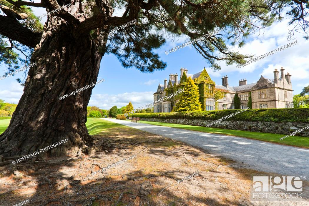Stock Photo: Muckross House and Gardens, County Kerry, Ireland, Europe.