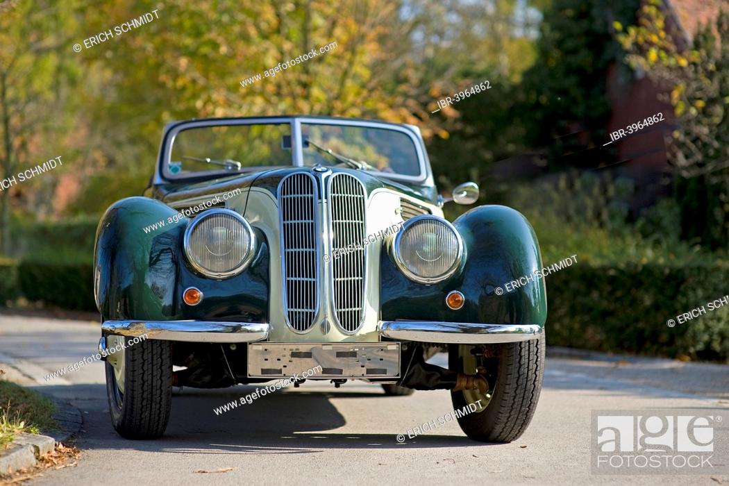 Vintage Bmw 327 28 Convertible Saloon Car Built In 1939 Stock Photo Picture And Rights Managed Image Pic Ibr 3964862 Agefotostock