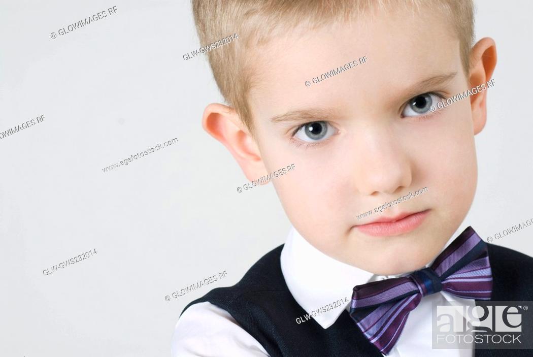 Stock Photo: Portrait of a boy.
