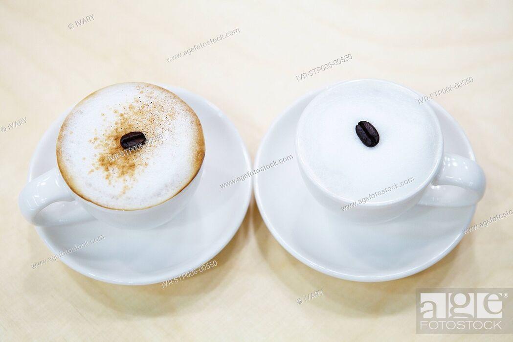 Stock Photo: Espresso Coffee On Table.