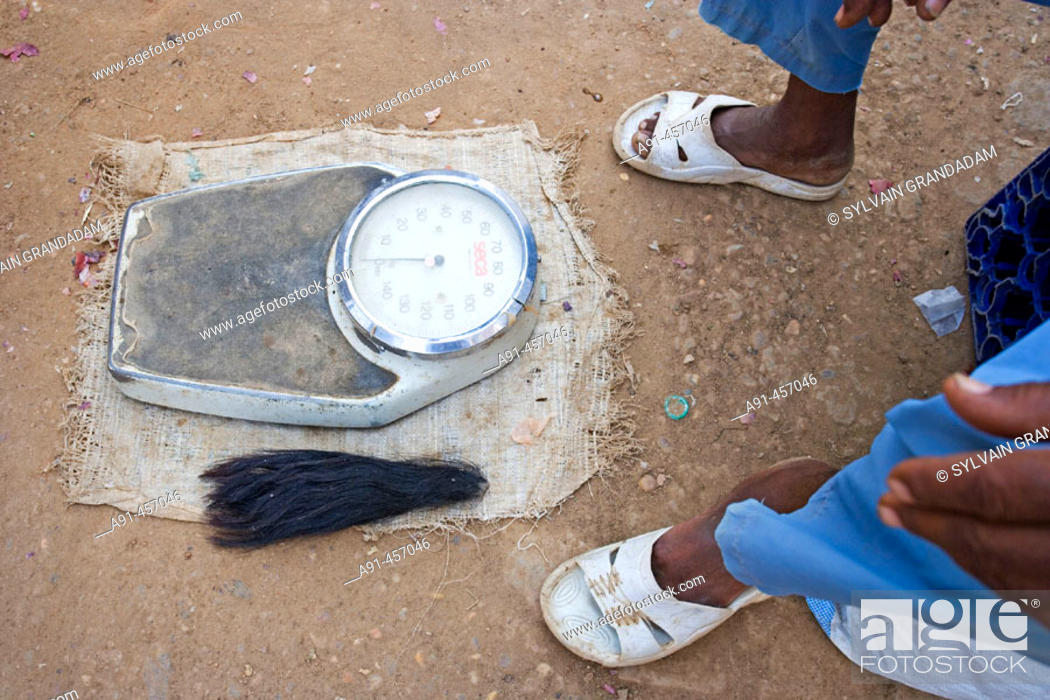 Stock Photo: Scales for rent at market, Atbarah. Upper Nubia, Blue Nile state, Sudan.
