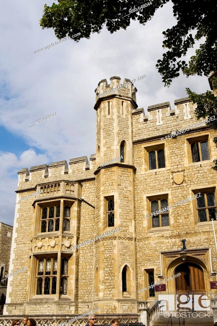 Stock Photo: Fusiliers's Museum, Tower of London, London. England, UK.