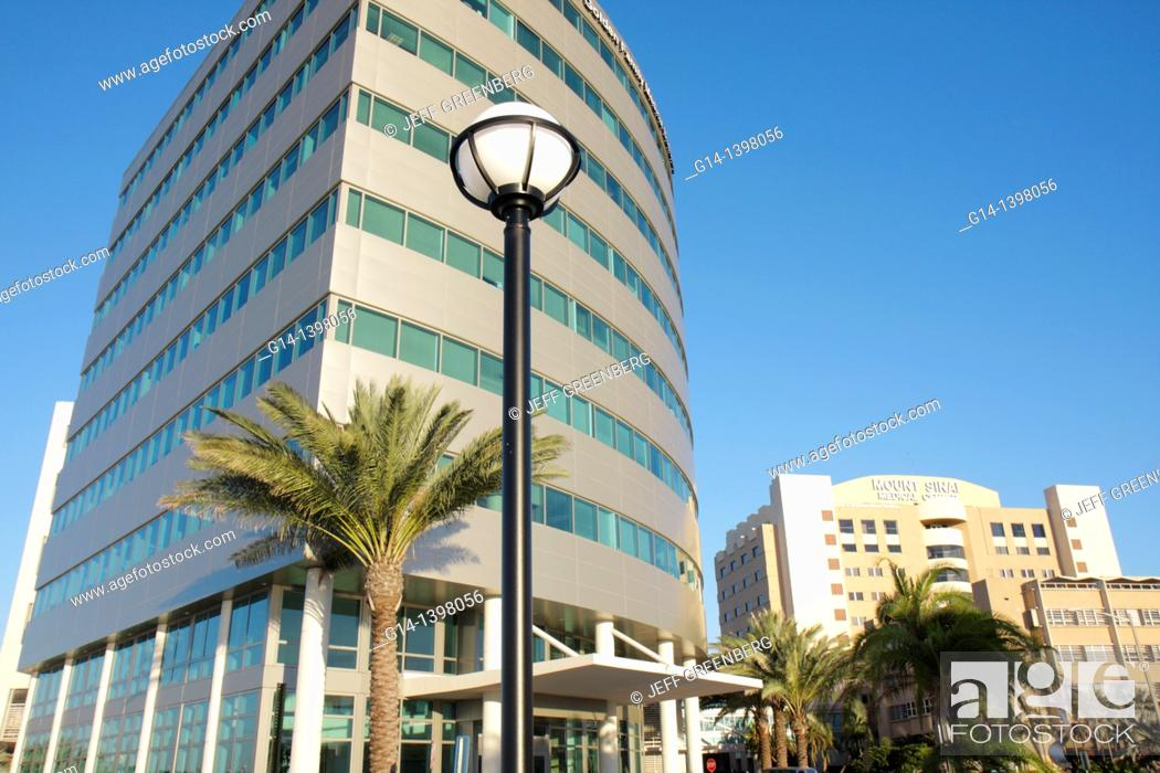 Florida, Miami Beach, Mt Mount Sinai Medical Center