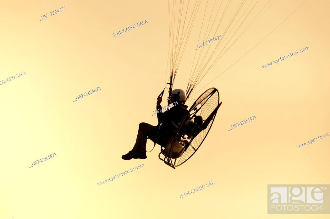 Photo de stock: Para Motor Glider.