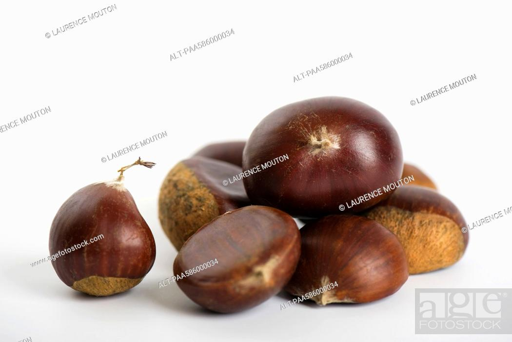 Stock Photo: Chestnuts.