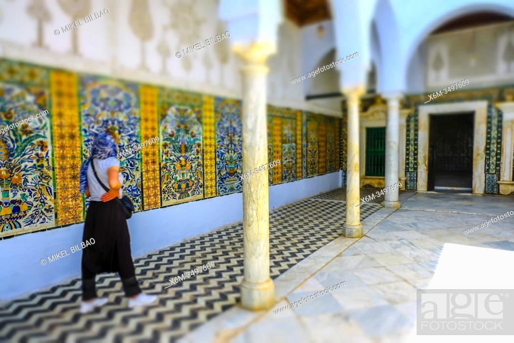 Stock Photo: Mosque of the Barber. Kairouan. Tunisia, Africa.