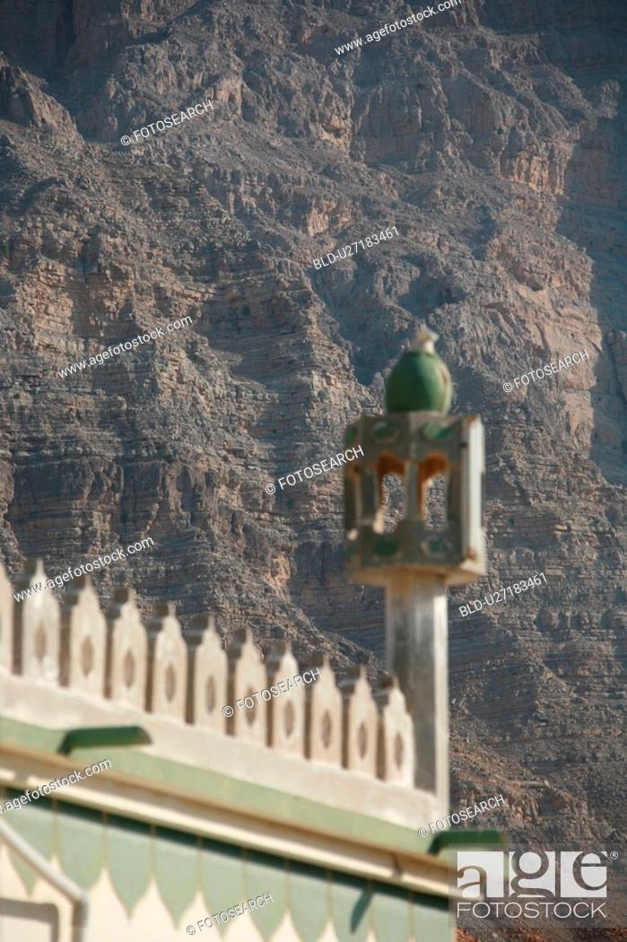 Stock Photo: mosque, ras, khaimah, RAK.