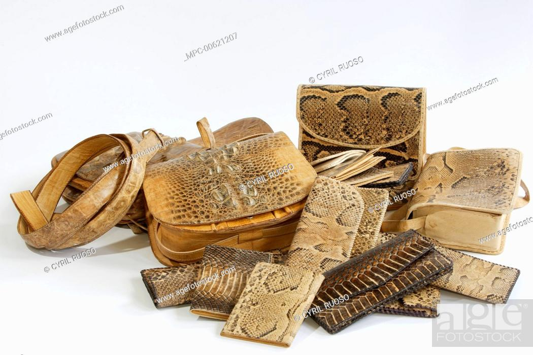 Leather goods exported without CITES documentation are seized by