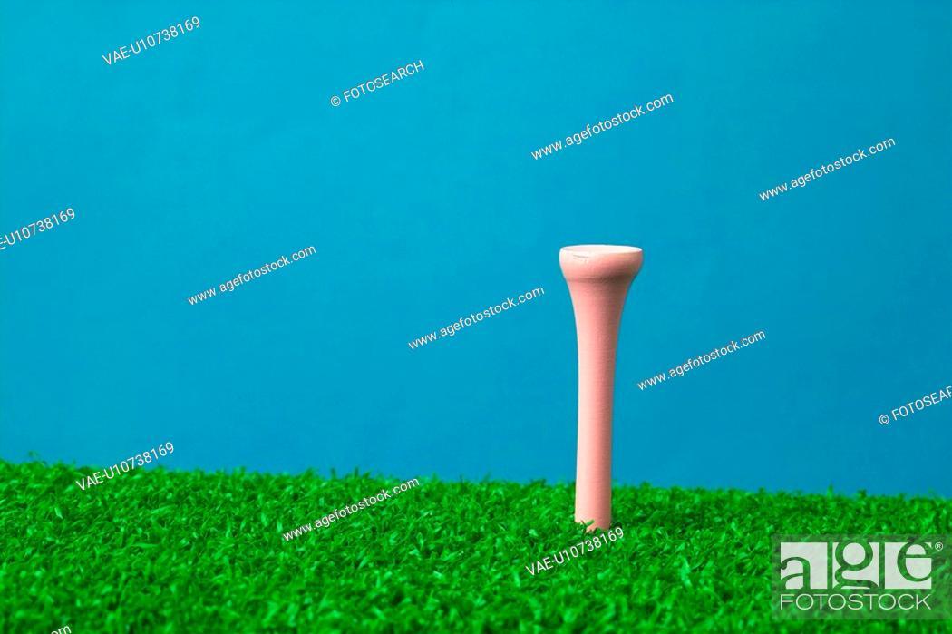 Stock Photo: equipment, leisure, golf, sports equipment, mat, sports.