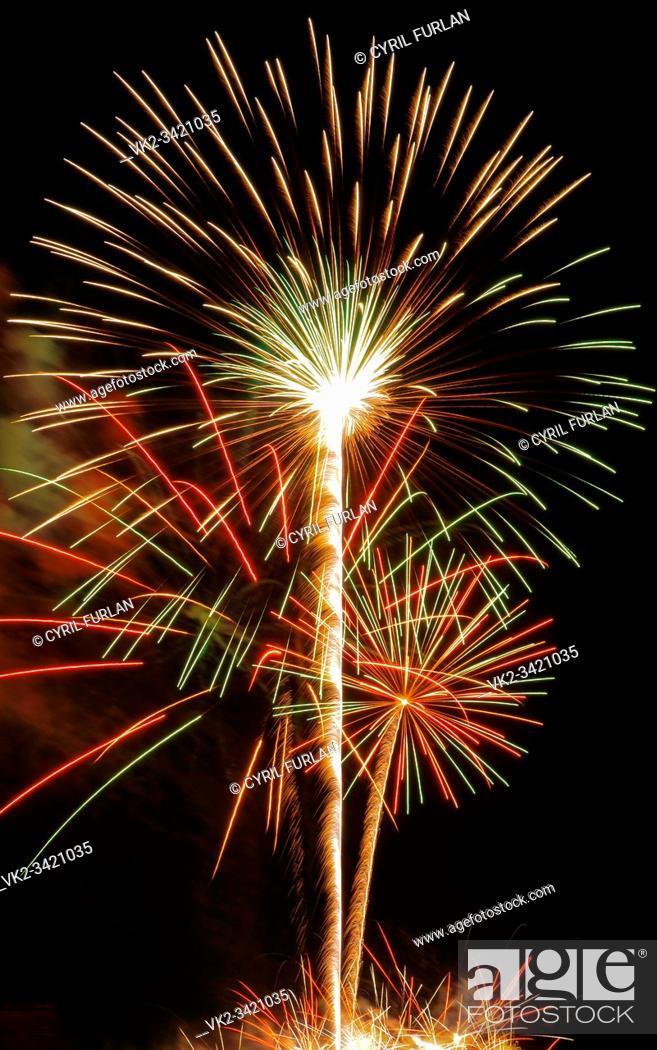 Stock Photo: Independence day celebration America, Pennsylvania.