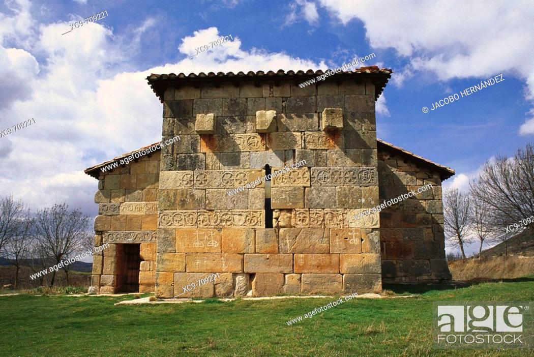 Church of Santa María in Quintanilla de las Viñas. Visigothic ...