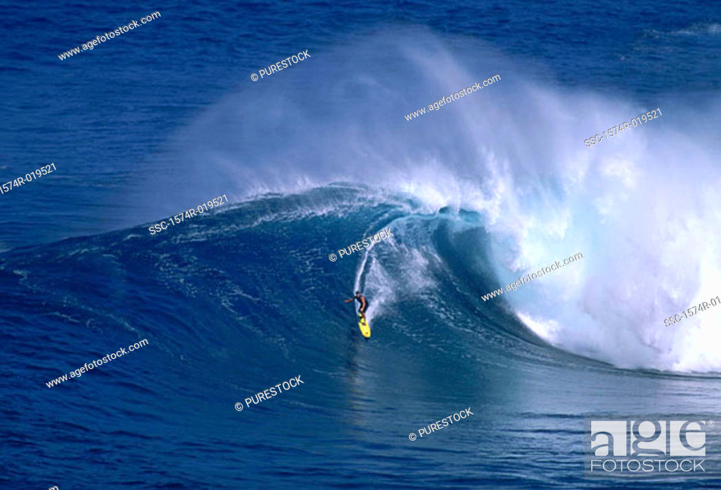 Stock Photo: Surfing.