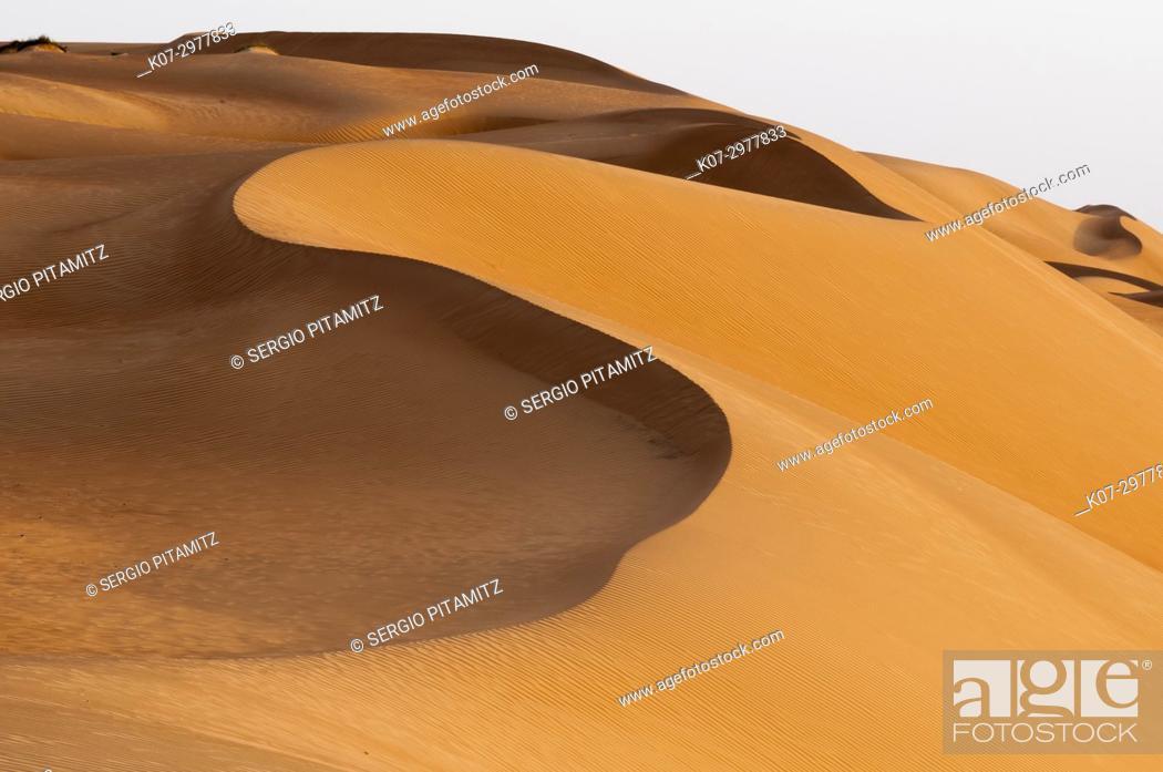 Stock Photo: Wahiba Sands desert, Oman.