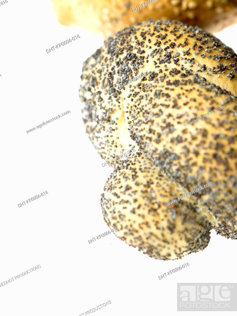 Stock Photo: Poppy seed Bread.