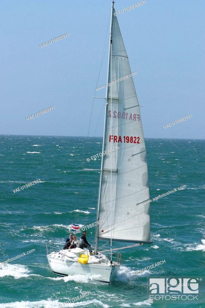 Stock Photo: boat, sailboat, water, reflection, peaceful, placid.