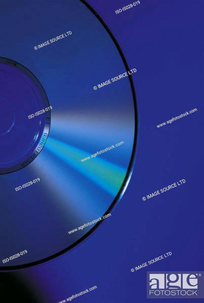 Stock Photo: Compact disc.