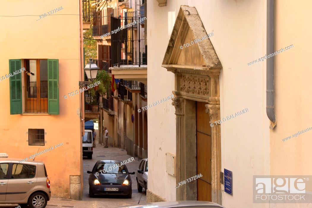 Stock Photo: Puig de Sant Pere, Palma Mallorca Balearic Islands Spain.