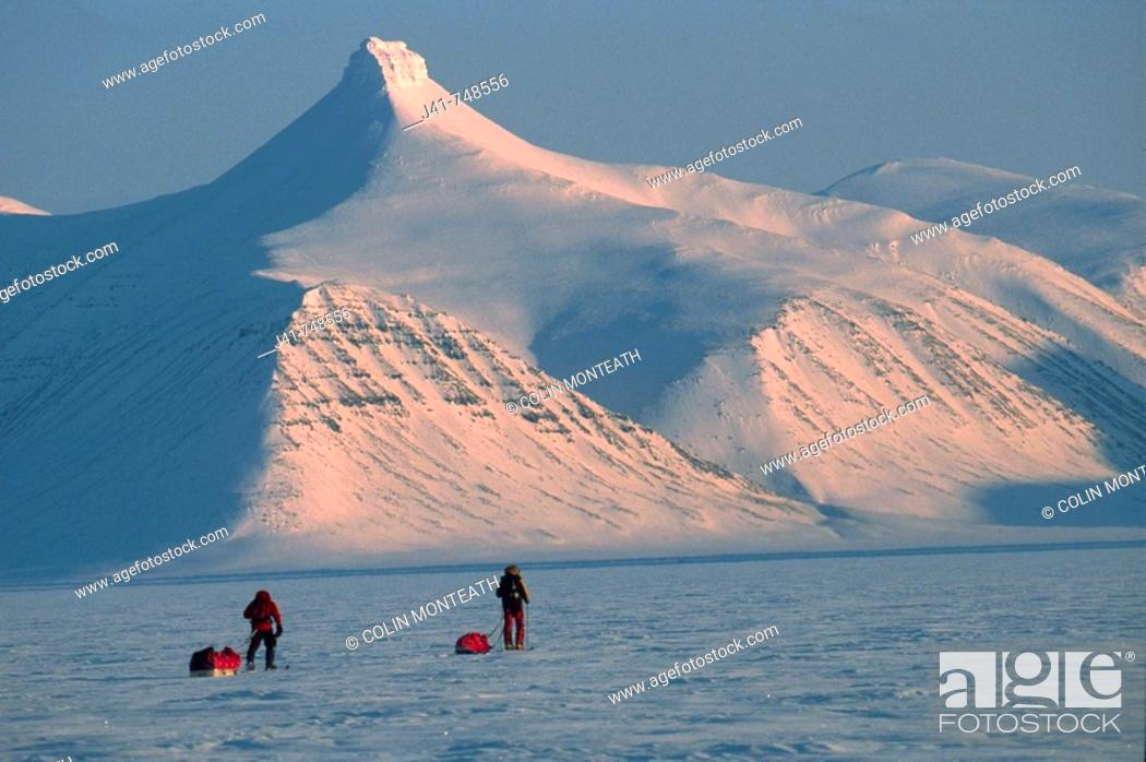 Ski Tourers Spring Traverse Ny Alesund To Longyearbyen
