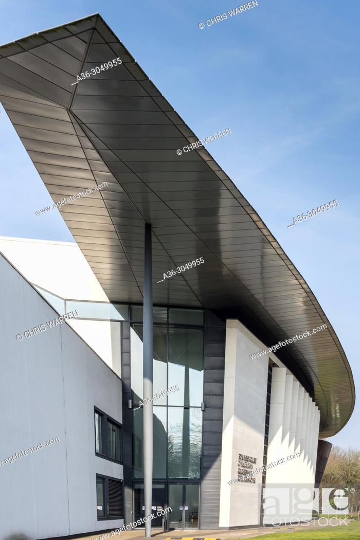 Stock Photo: Royal Welsh College of Music and Drama Cardiff Wales.